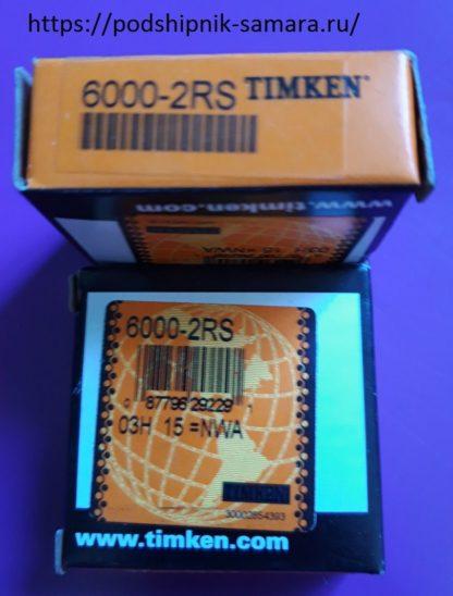 Подшипник 6000-2RS timken