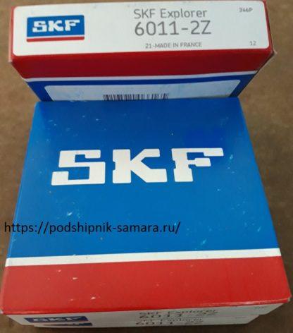 Подшипник 6011-2z skf