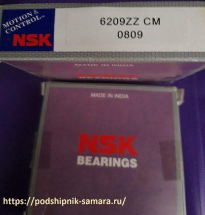 Подшипник 6209zz cm nsk