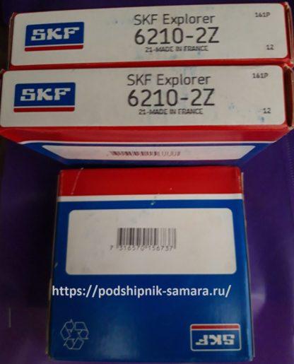 Подшипник 6210-2z skf