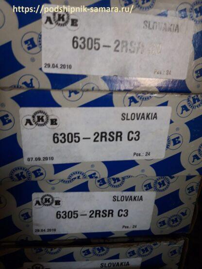 Подшипник 6305-2rsr c3 ake