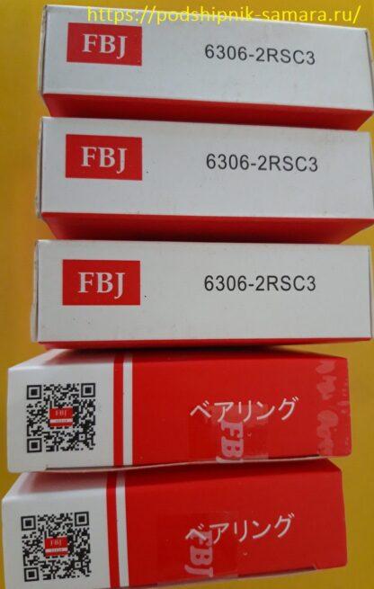 Подшипник 6306-2rsc3 fbj