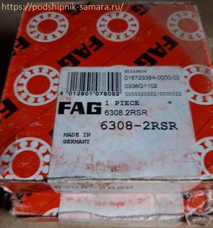 Подшипник 6308-2rsr fag