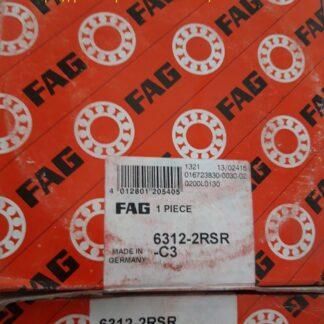Подшипник 6312-2rsr-c3 fag