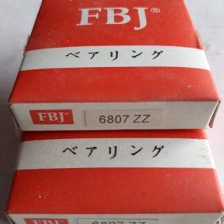 Подшипник 6807 zz fbj