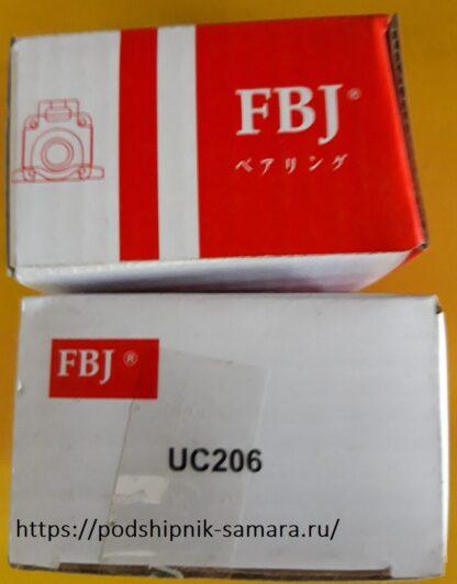 Подшипник uc206 fbj