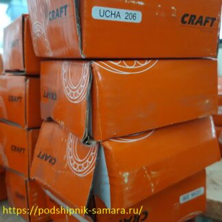 Подшипники ucha 206 craft купить