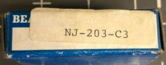 Подшипник NJ203 (42203)